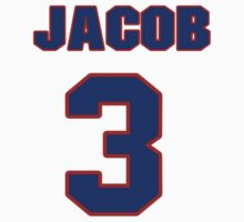 National football player Jacob Rogers jersey 3 by imsport