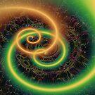 NEON SWIRLS by Spiritinme