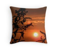 Just Beyond The Sunset Throw Pillow