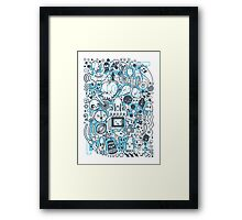 What is going on in my mind! Framed Print