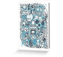 What is going on in my mind! Greeting Card