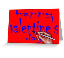 HAPPY VALENTINE'S DAY 30 Greeting Card