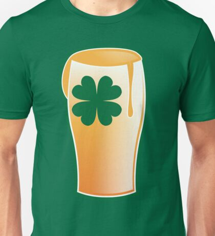 An IRISH shamrock beer great for St Patricks day Unisex T-Shirt