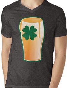 An IRISH shamrock beer great for St Patricks day Mens V-Neck T-Shirt
