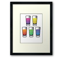 5 Shooters  Framed Print