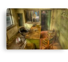The Meeting Was Cancelled 2 Metal Print