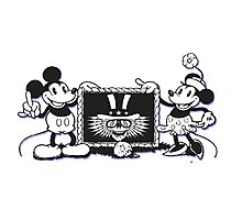 Minnie and Mickey Photographic Print