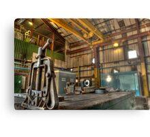 The compressor House Metal Print