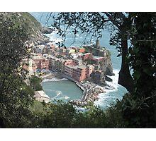 Vernazza, La Cinque Terre Photographic Print