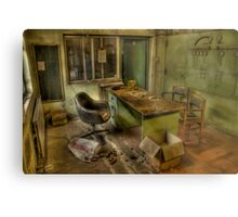 The Meeting Was Cancelled Metal Print