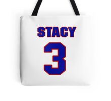 National football player Stacy Gore jersey 3 Tote Bag