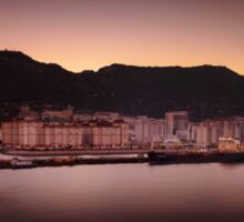 Dawn at Gibraltar Sticker