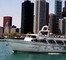 Chicago boat tour by Kittin