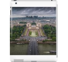Storm approaching over Paris iPad Case/Skin