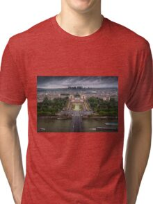 Storm approaching over Paris Tri-blend T-Shirt
