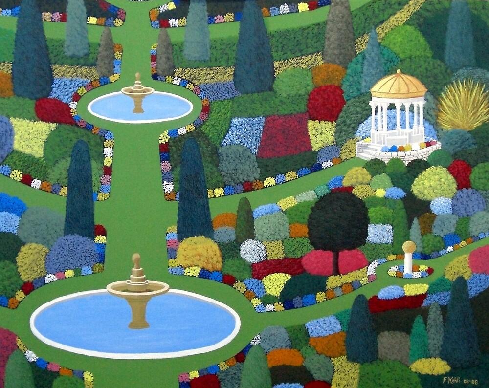 Fountain Garden by fbkohli