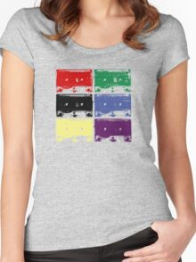 Tapes 'n' Tapes. Women's Fitted Scoop T-Shirt