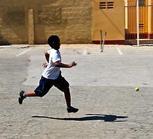 Chasing The Ball by dcdigital