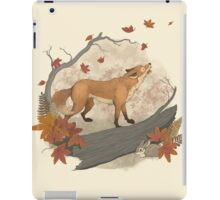 fox and rabbit iPad Case/Skin