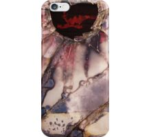 Fractured View - Red iPhone Case/Skin