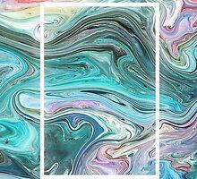The 1975 Paint Swirl by amymeatsix