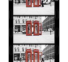 superman forgets kitbag (Selective Colour) Photographic Print