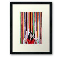 Color your life Framed Print