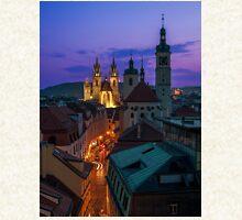 Evening Prague Zipped Hoodie