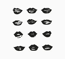 kiss kiss in black and white Unisex T-Shirt
