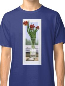 """Three Tulips"" Classic T-Shirt"