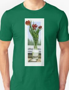 """Three Tulips"" Unisex T-Shirt"