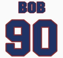 National football player Bob Hamm jersey 90 by imsport