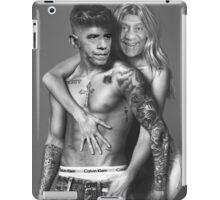 Justin Bieber Calvin Klein Parody - Obama and Cosby iPad Case/Skin