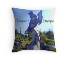 watch over me... Throw Pillow