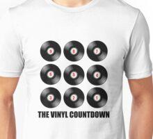 The Vinyl Countdown! Unisex T-Shirt