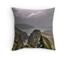 Castle Rock 2 Throw Pillow