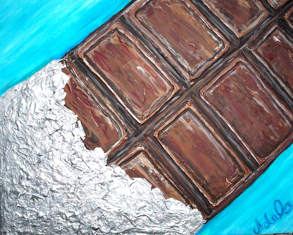 """""""Chocolate Bar"""" by Adela Camille Sutton"""