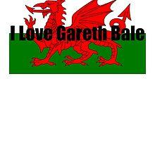 I Love Gareth Bale by yvonnefrewin
