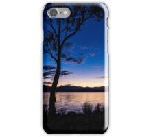 Dusk at the lake  iPhone Case/Skin