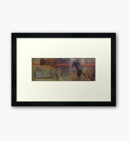 petrichor Framed Print