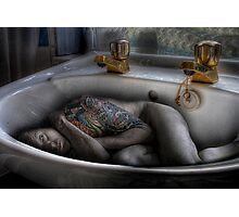 The sink bath Photographic Print