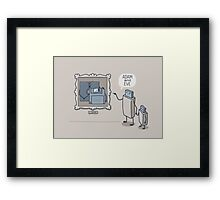 ADAM & EVE Framed Print