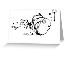 cool sketch 55 Greeting Card