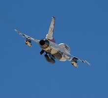 F-16 Thunderbird Departure by jdmosher