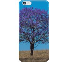 Tree on the hill iPhone Case/Skin