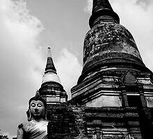 Nestled Buddha by Dave Lloyd