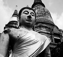 Buddha And Chedi's by Dave Lloyd