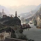 Old China - Matte paintings by chrisfx