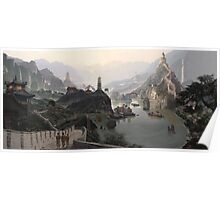 Old China - Matte paintings Poster