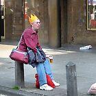 Orange Hat by Jo Nijenhuis